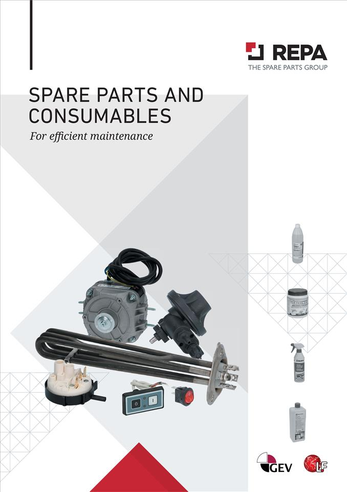 SPARE PARTS AND CONSUMABLES 04/2021