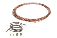 Copper fittings for refrigeration
