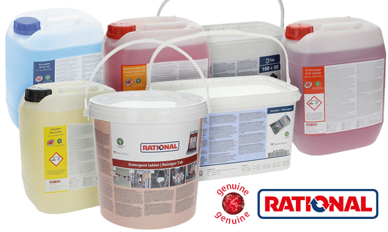 All of the original Rational detergents now available and ready for delivery