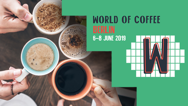 LF a GEV na World of Coffee v Berlíně 2019